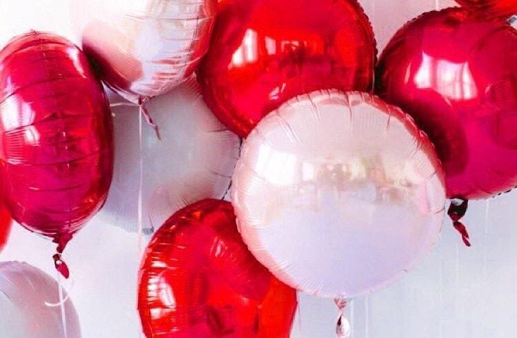 шары на 14 февраля
