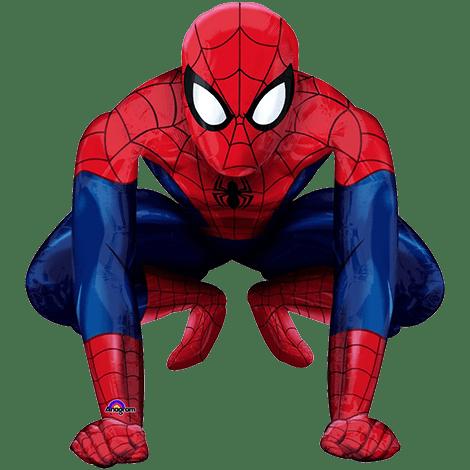 Фольгированный воздушный ходячий шар Человек Паук