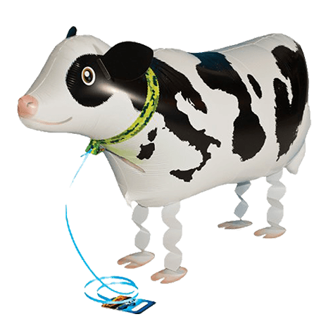 Воздушный ходячий шар корова