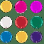 фольгированные воздушные круглые шарики