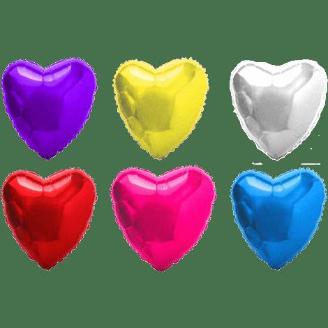 Заказать фольгированный шар-сердце с доставкой