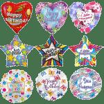 Фольгированные шары С днем рождения