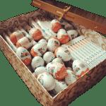 сладкий подарок коробка с киндерами большая