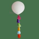 Купить с доставкой большой шар с гирляндой Тассел