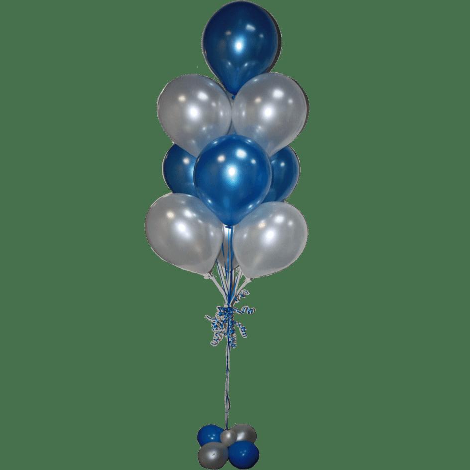 Фонтан гелиевых шаров