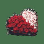 Подарочный набор розы с Рафаэлло