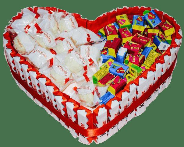 Сладкий подарок из Рафаэлло и Love is