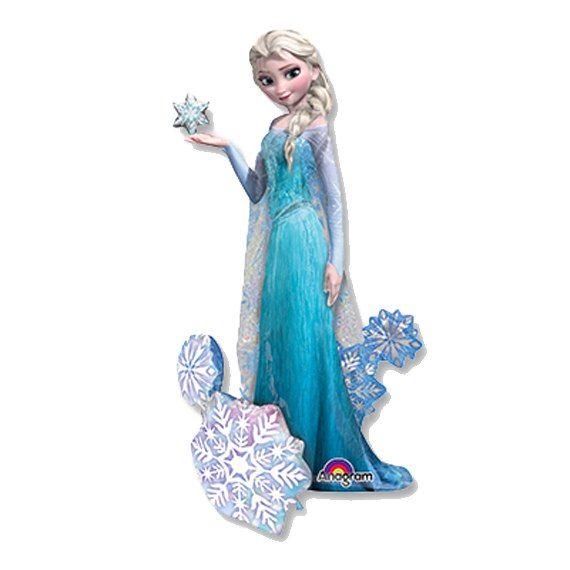 Ходячий шар принцесса Эльза