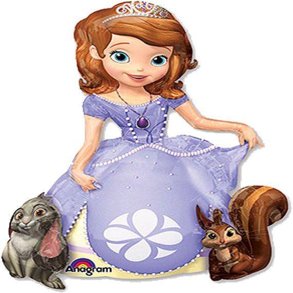 Ходячий воздушный шар принцесса София