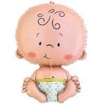 Фольгированный гелиевый шар Малыш мальчик