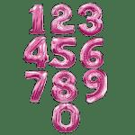 Заказать фольгированные цифры фуше