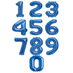 Фольгированные надувные шары-цифры