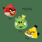Заказать фольгированные шары Angry Birds