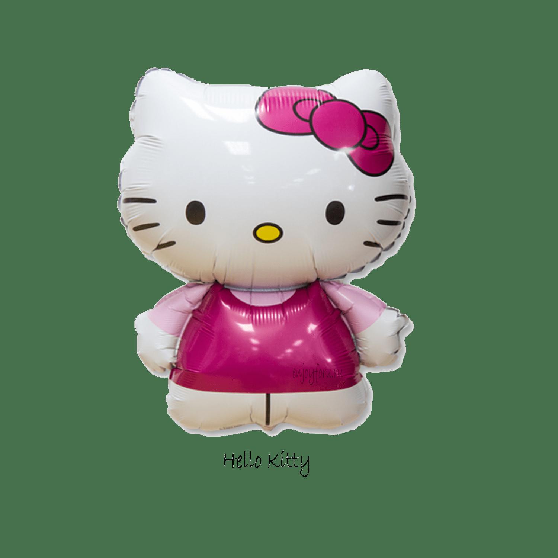 Фольгированная гелиевая фигура-шар Hello Kitty