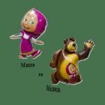 Купить фольгированные шары Маша и Медведь