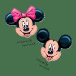 Заказать фольгированную фигуру Микки и Минни Маус