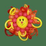 Фигура из воздушных шариков солнышко