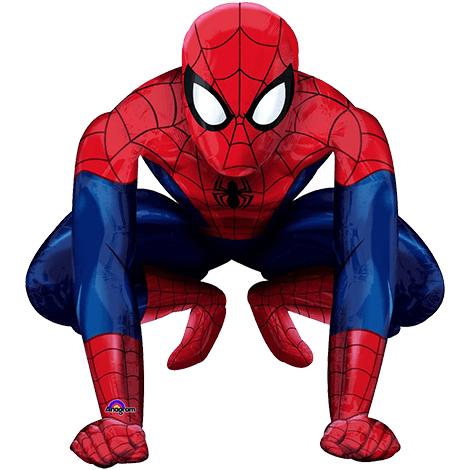 """Фольгированная фигура """"Человек-паук"""""""