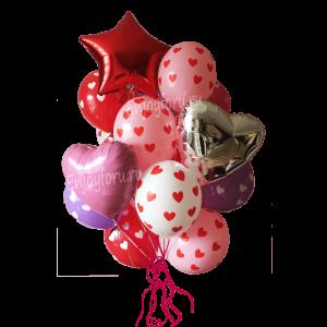 Букет воздушных шаров Сладкие шарики