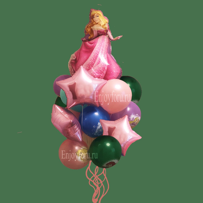 Заказать букет шаров принцессы дисней с доставкой