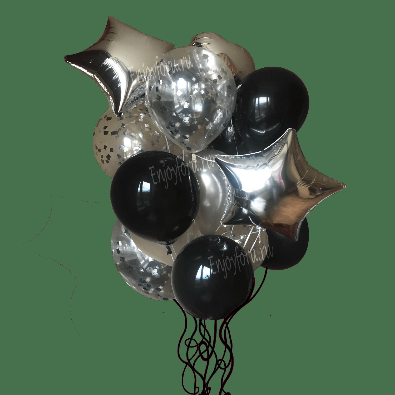 Приобрести букет шаров стильный