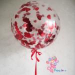 Большой шар с сердечками