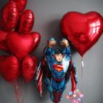 """Набор фольгированных шаров """"Love and superman"""""""
