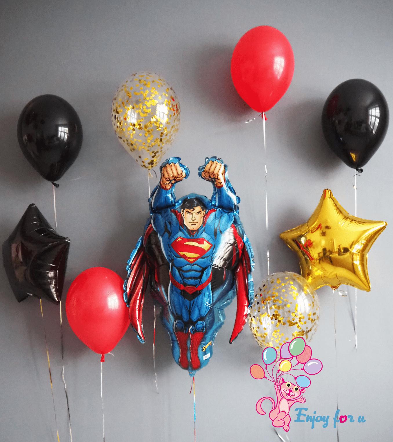 """Букет шаров """"Superman"""""""