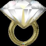 """Фольгированное кольцо """"Золото"""""""