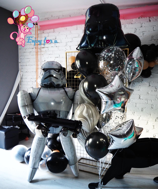 """Набор шаров """"Звездные войны"""""""