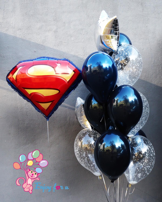 "Набор шаров ""Супермену"""
