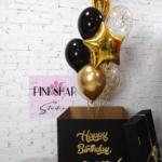 "Коробка с шарами ""Happy Birthday"""