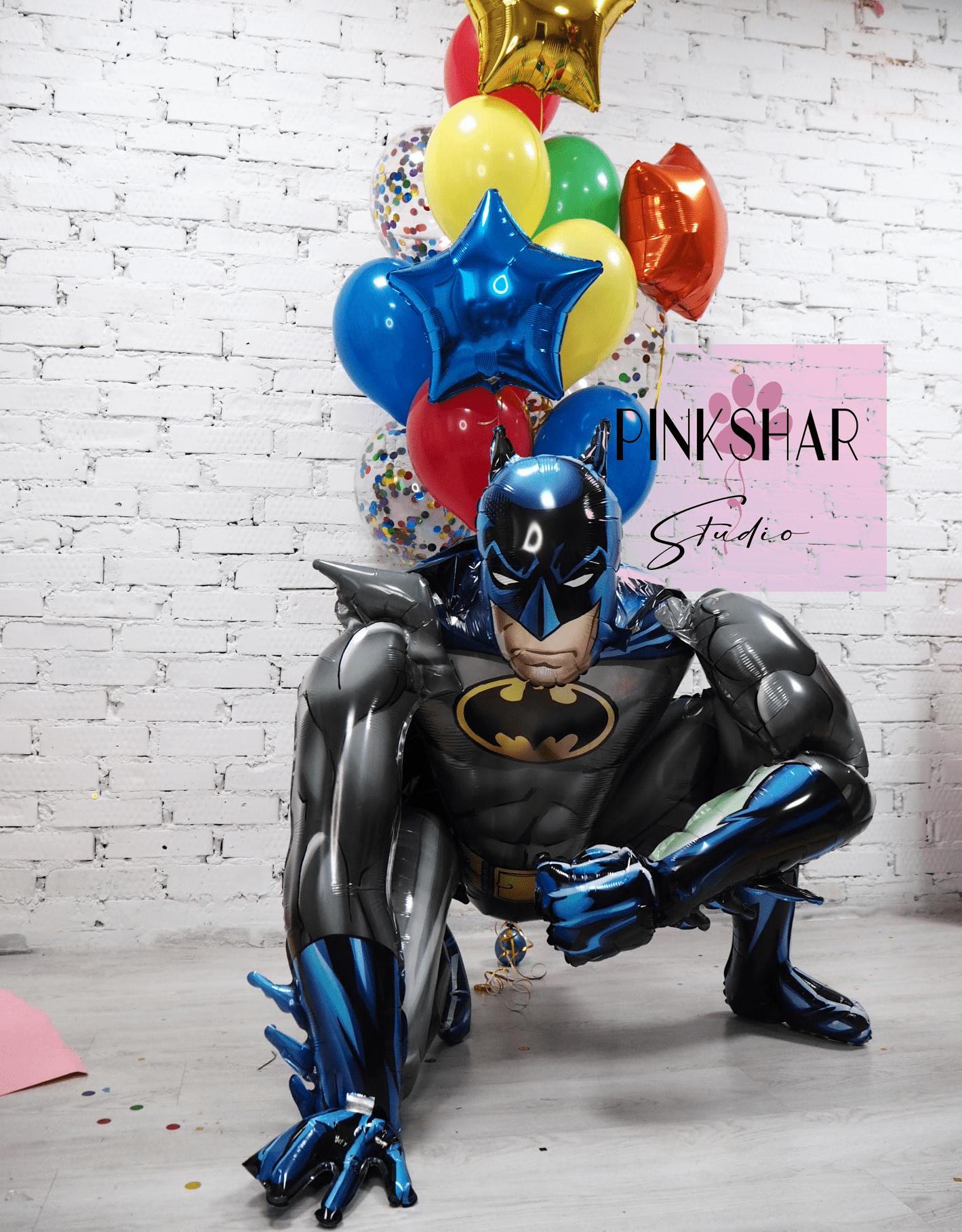 Набор шаров с Бэтменом